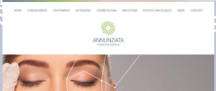 bsoft sviluppo web sito annunziata medicina estetica
